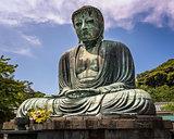 The Great Buddha of Kamakura (Kamakura Daibutsu), a bronze statu