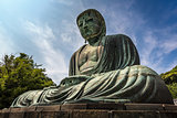 The Great Buddha of Kamakura (Kamakura Daibutsu), a bronze statu