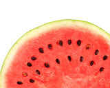 Texture of ripe watermelon