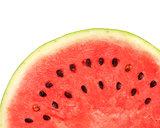 Texture of ripe watermelon