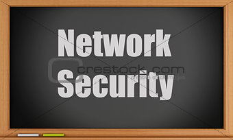 3d Network Security text on blackboard.