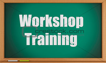 3d Workshop Training text on blackboard.