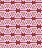 Triangular Retro Seamless Pattern Vector