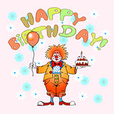 happy birthday clown04