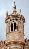 Tower of Colomares Castle. Benalmadena town. Spain