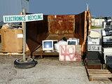 Electronics Recycling at Landfill