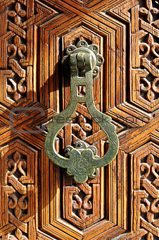 arab door detail