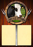 Steak House - Menu Design