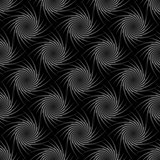 Design seamless monochrome whirl decorative pattern