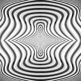 Design monochrome waving lines background