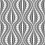 Design seamless monochrome stripy pattern