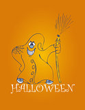 halloween backgrounds with ghost