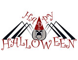 spider on the halloween