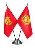 Kyrgyzstan - Miniature Flags.