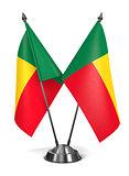Benin - Miniature Flags.
