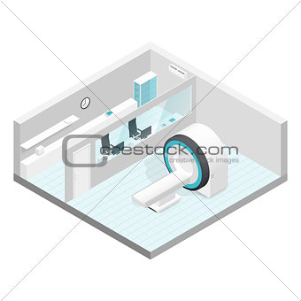 Cabinet MRI isometric room set