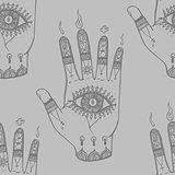 Bohemian Hand Pattern