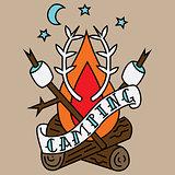 Camping Tattoo