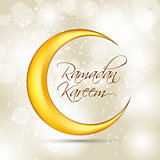 Ramadan Kareem Background Design. Vector Illustration