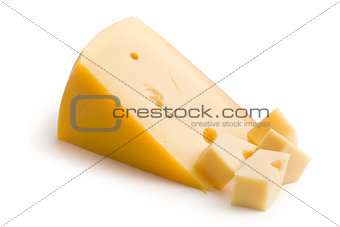 block of edam cheese