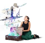 Suitcase full of memories
