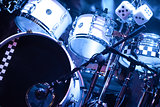 drumkit on stage
