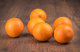 Organic orange fruit