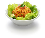 kisir, bulgur salad, turkish food