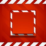 Red abstract geometric corporate background