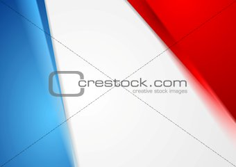 Corporate bright abstract background. French colors