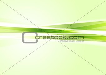 Green concept tech stripes background