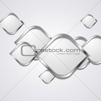 Abstract hi-tech metallic background