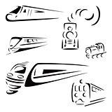 Train symbols