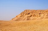 Negev desert landscape near the Dead Sea. Israel