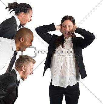 Tired of leaders screams