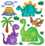 Dinosaur theme set 1