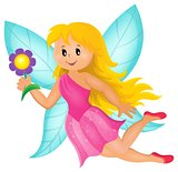 Happy fairy theme image 1
