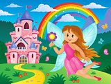 Happy fairy theme image 3
