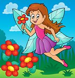Happy fairy theme image 5