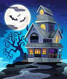 Image with haunted house thematics 3
