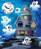 Image with haunted house thematics 4