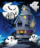 Image with haunted house thematics 5