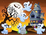 Image with haunted house thematics 7