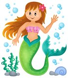 Mermaid theme image 1