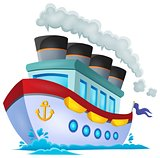 Nautical ship theme image 1