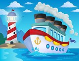 Nautical ship theme image 2