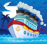 Nautical ship theme image 3