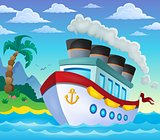 Nautical ship theme image 4