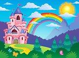 Pink castle theme image 4