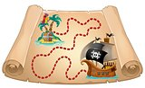 Pirate scroll theme image 1